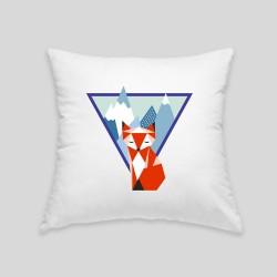 Mountain fox cushion